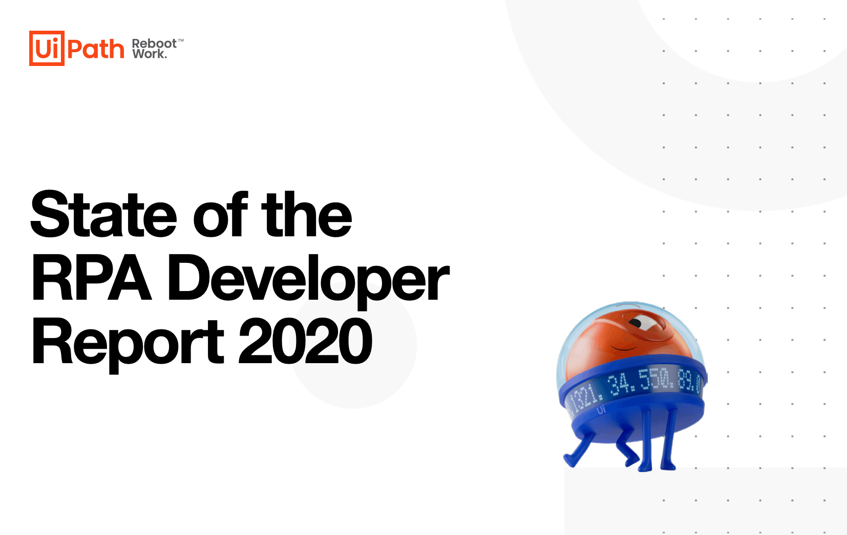 UiPath State of the RPA Developer